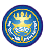 Employees' State Insurance Corporation, ESIC, Bihar, 10th, freejobalert, Latest Jobs, Clerk, MTS, UDC, esic bihar logo