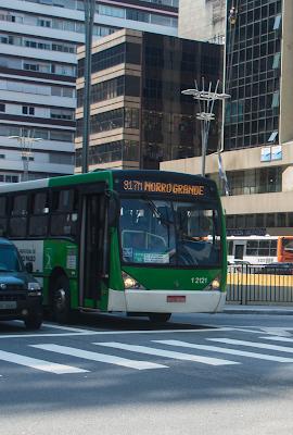 Faixas exclusivas começam a ser implantadas nos eixos paralelos à Av. Paulista