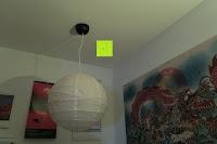 fertig: Lumen Basic schwarz ? Rauchmelder, ersetzt Ihr Sockel/Pavillon Luminaire (Noxe)