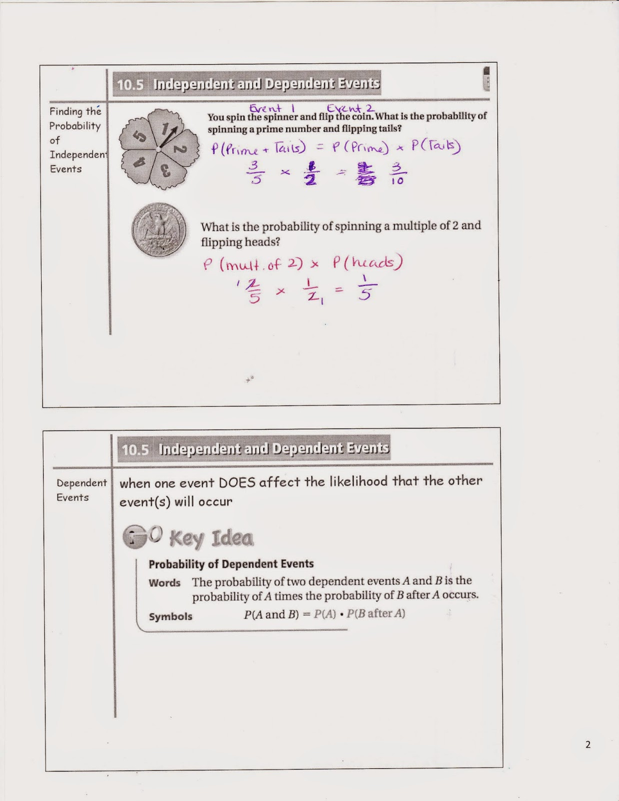 Ms Jean S Classroom Blog Math 7 10 5 Independent And
