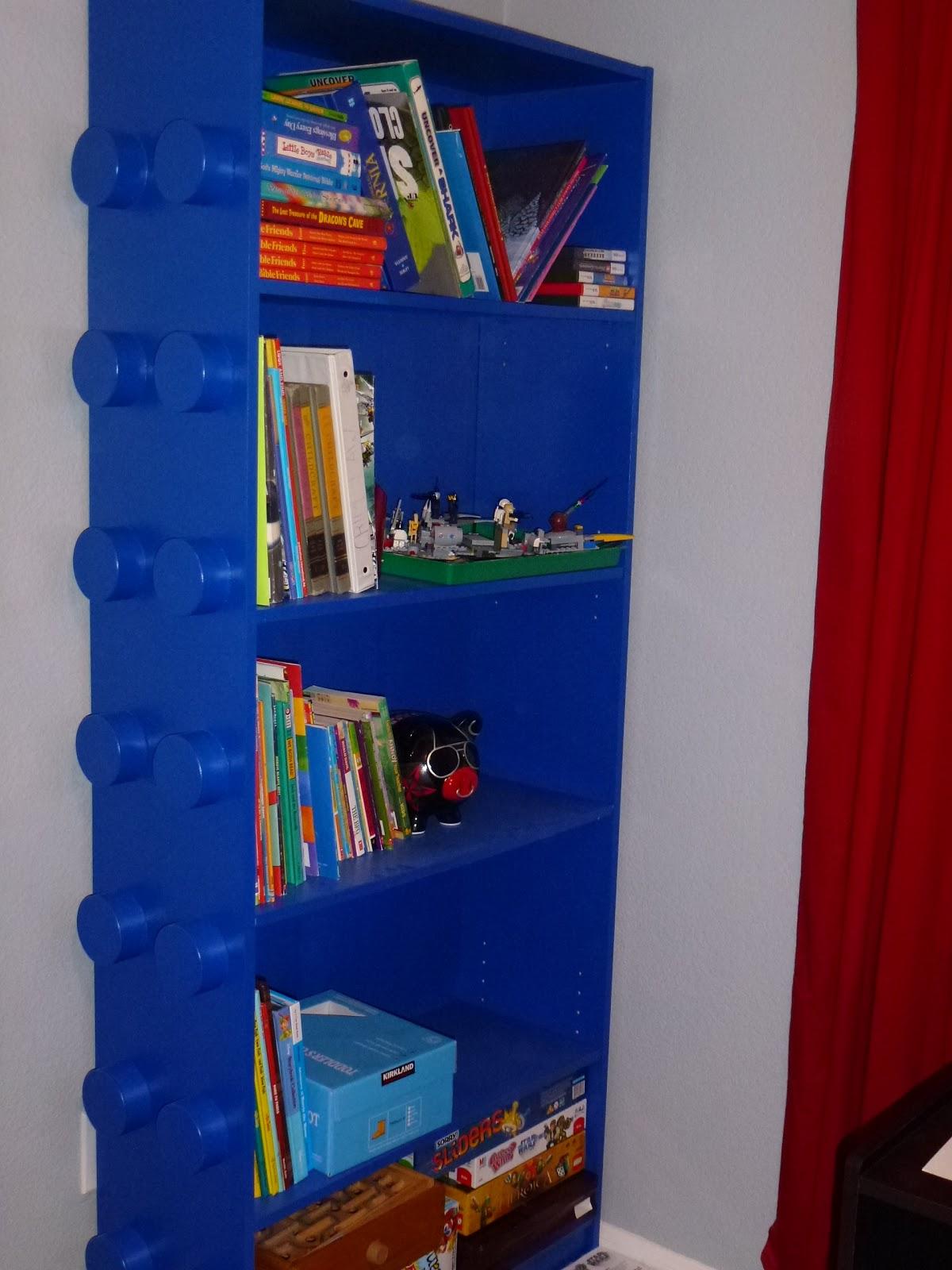 Storage Ideas For Bedrooms 4daysgourmet The Long Awaited Lego Bookshelf