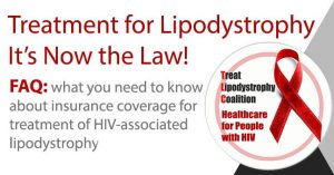 Treatment for Lipodystrophy - It's Now the Law!
