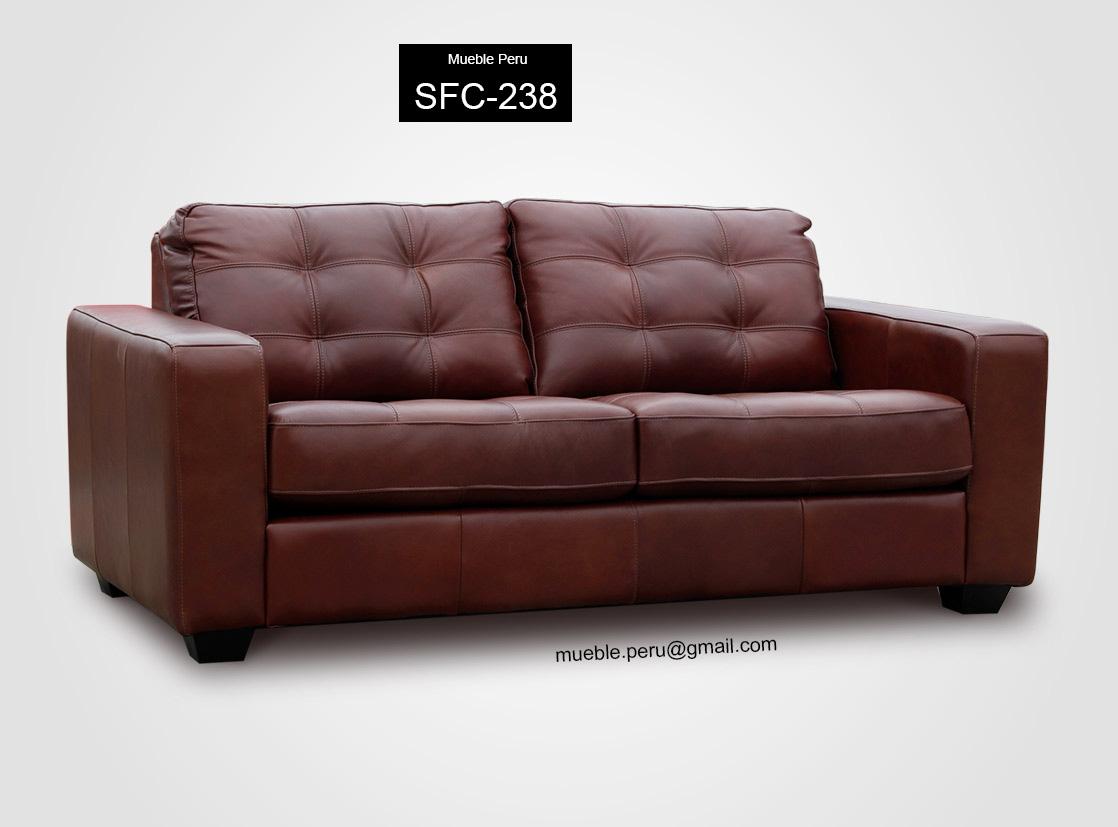 Mueble peru modernos sof s cama de cuero - Sofas de cuero ...