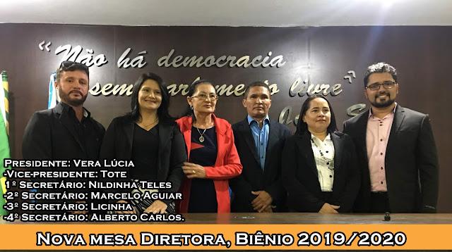 Nova mesa diretora da Câmara Municipal de Chapadinha toma posse na ...
