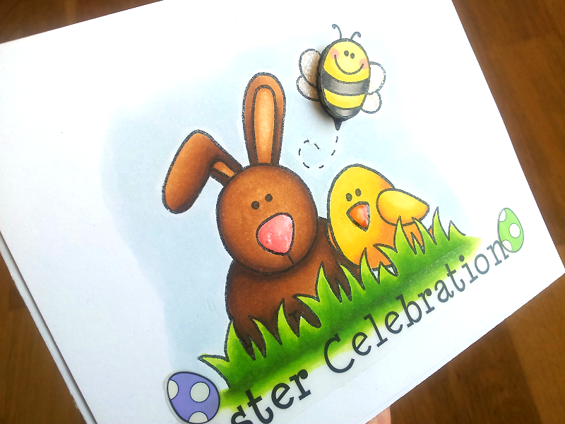 SRM Stickers Blog - Easter Celebration by Jane - #stickers #clearstamps #janesdoodles #spring