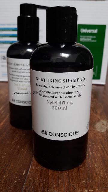 HM ekologiškas šampūnas ingredientai, sudėtis