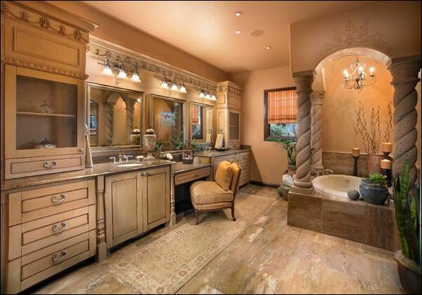 Tuscan Bathroom Design Ideas House Affair, Tuscan Style Bathroom