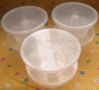Forminha de Pudim MAC Plásticos Cozinha do Quintal