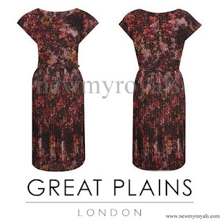 Kate Middleton wore GREAT PLAINS London Dress