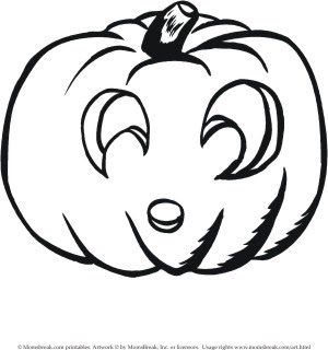 transmissionpress 4 picture of cute pumpkin coloring pages