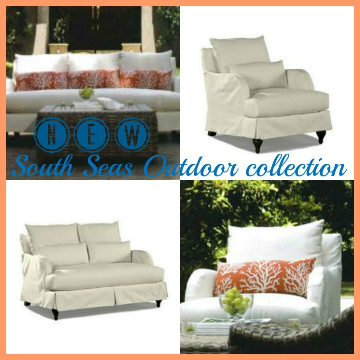 South Seas outdoor slipcover collection