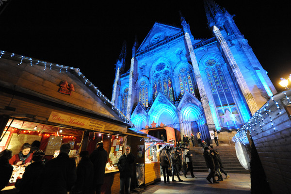 Mercadillo de Navidad (Mulhouse, Francia)