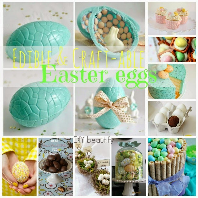 Easter Egg Desserts and Crafts www.diybeautify.com