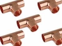 air compressor copper tee