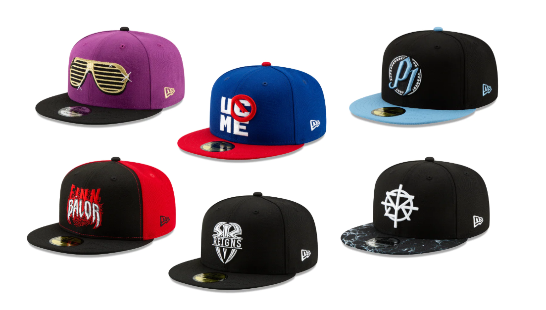 41adb32f031c87 The Blot Says...: WWE Superstars Hat Collection by New Era Cap