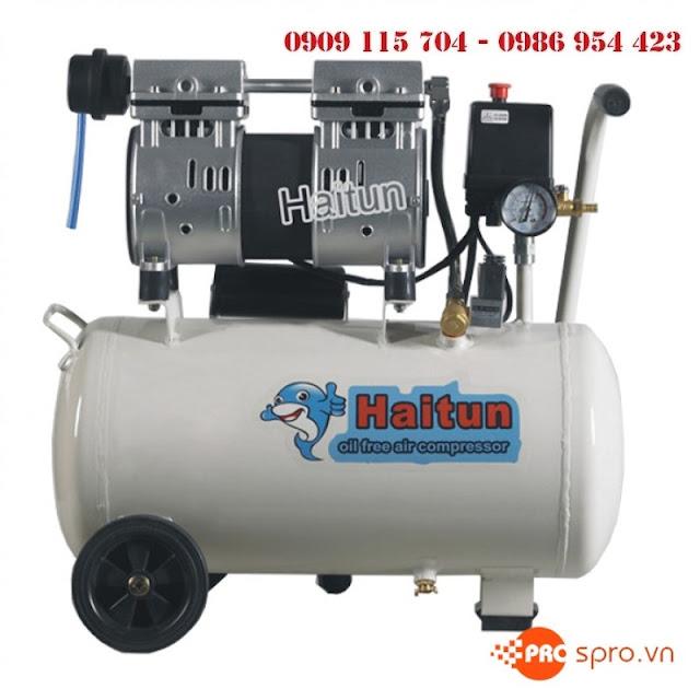 Máy nén khí không dầu không ồn Haitun dùng trong nha khoa