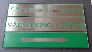 Dịch vụ in ấn cắt khắc inox tại Đăng Nguyên