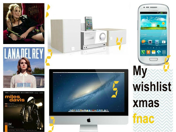 My wishlist de fnac