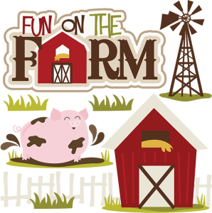 Fun on the Farm cut file set by Miss Kate Cuttables