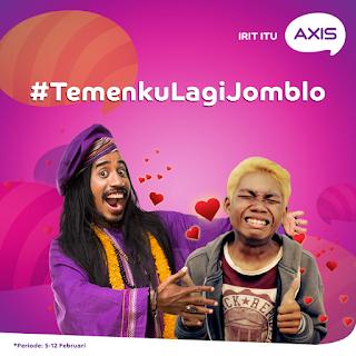 Info Kontes - Kontes Foto Axis #TemenkuLagiJomblo Berhadiah Voucher Belanja Total 1.5 Juta