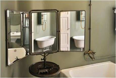 Decorating Ideas For Mirrors In Bathroom