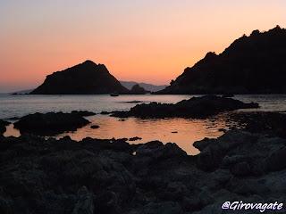argentario tramonto mar morto