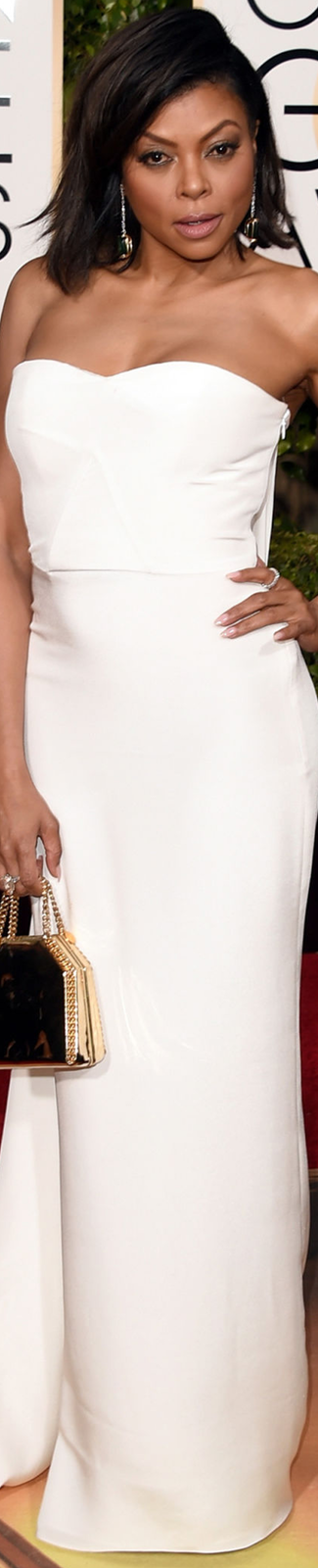 Taraji P. Henson 2016 Golden Globe Awards