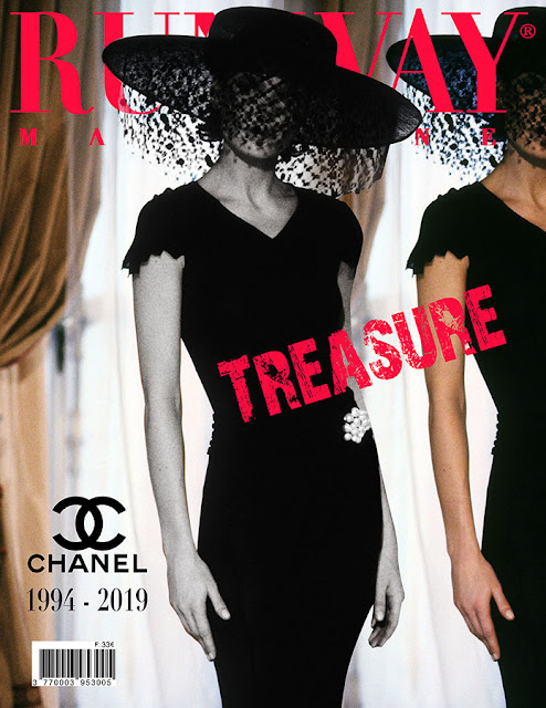 RUNWAY MAGAZINE issue 2019 RUNWAY MAGAZINE cover 2019. Runway Treasure - Chanel