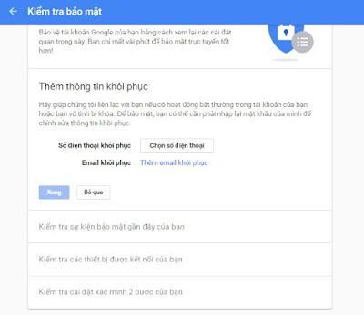 kiem tra bao mat cho tai khoan google cua ban 2017