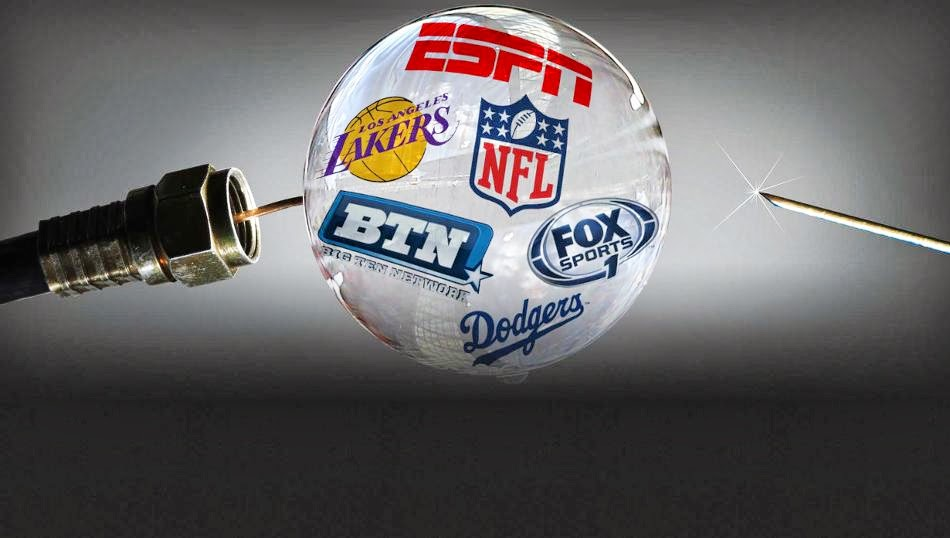 The Sports Cable Bubble