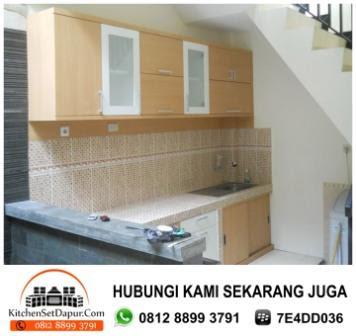 Jasa Kitchen Set Bintaro Hub 081288993791 Kitchen Set Minimalis