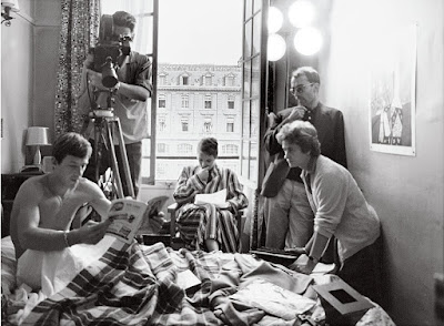 Godard filming Breathless, era of the Nouvelle Vague
