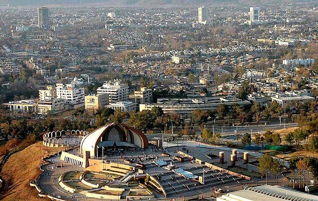 foto aérea de Islamabad – Paquistão