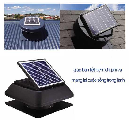 Thiết bị thông gió sur dụng năng lượng mặt trời