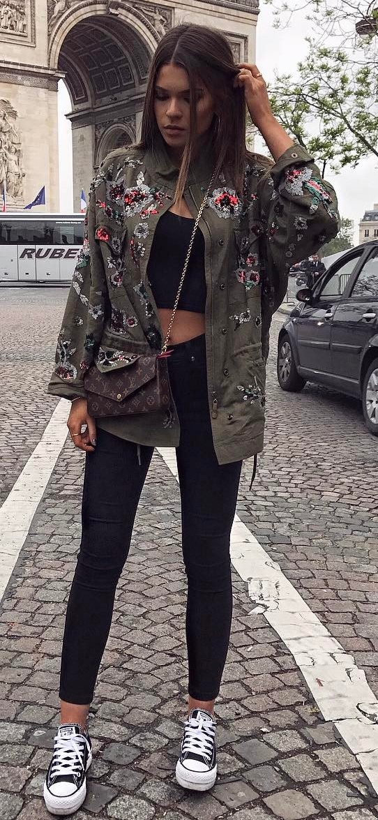 cute street style outfit