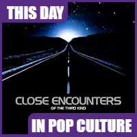 """""""Close Encounters of the Third Kind"""" opened in theaters on November 23, 1977."""