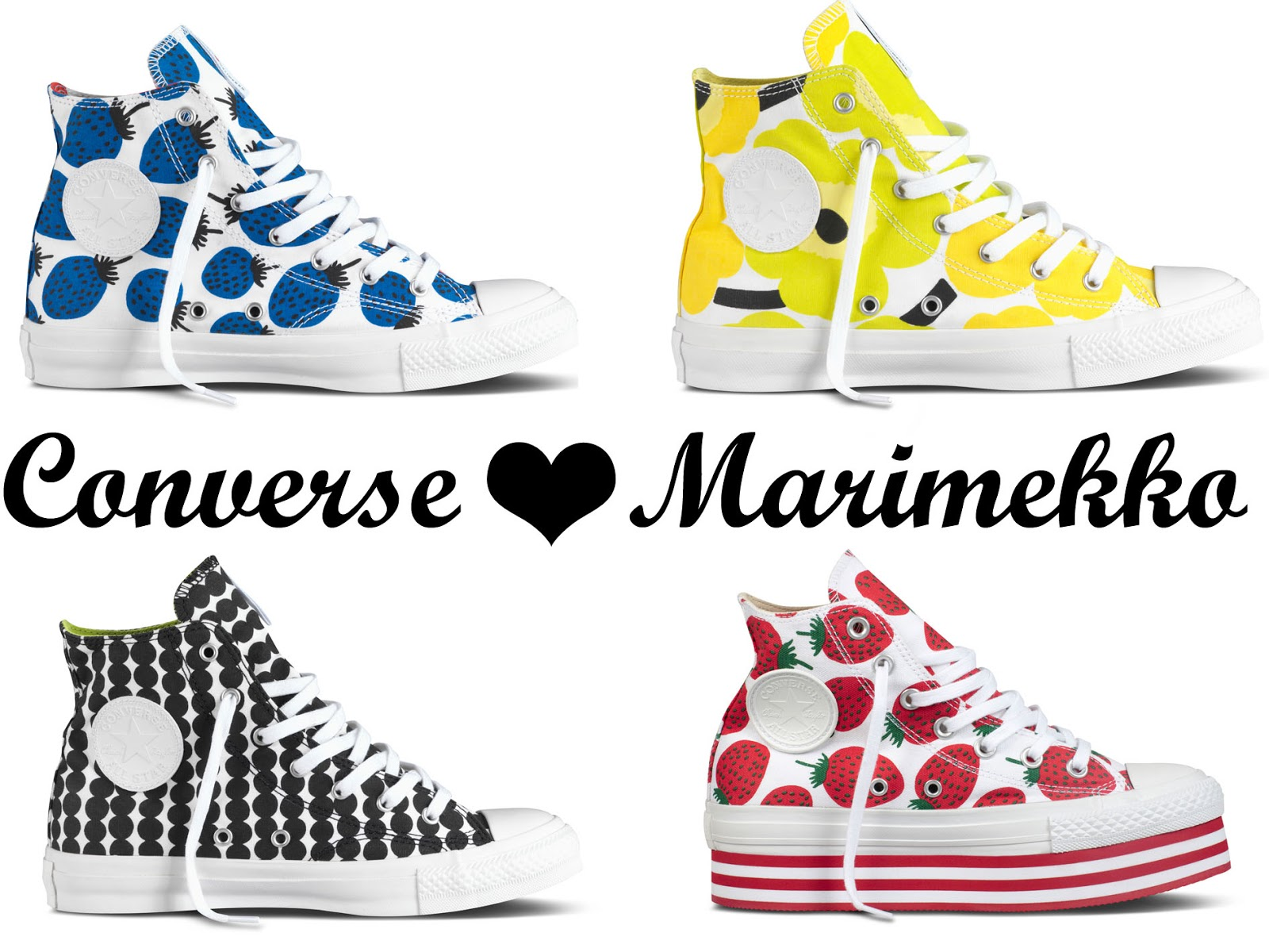 8885cddc10d5 This Little Girl Is Lost  Converse   Marimekko s new collection