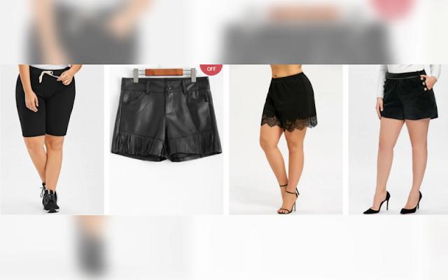 Moda, Wishlist, Dica do Dia, loja rosegal, publieditorial, publipost, Rosegal, roupas plus size, Dicas de Lojas, shorts
