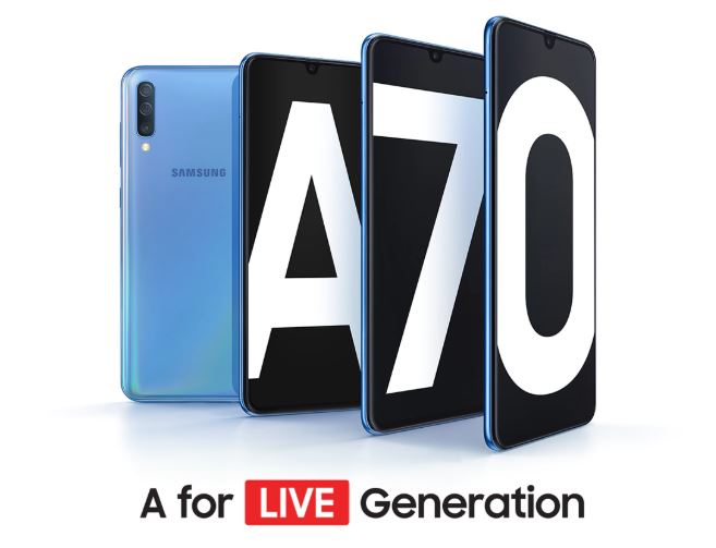 Harga dan Spesifikasi Samsung Galaxy A70 RAM 6GB ROM 128GB Terbaru di Indonesia