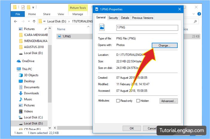 Cara agar windows photo viewer muncul pada windows 10