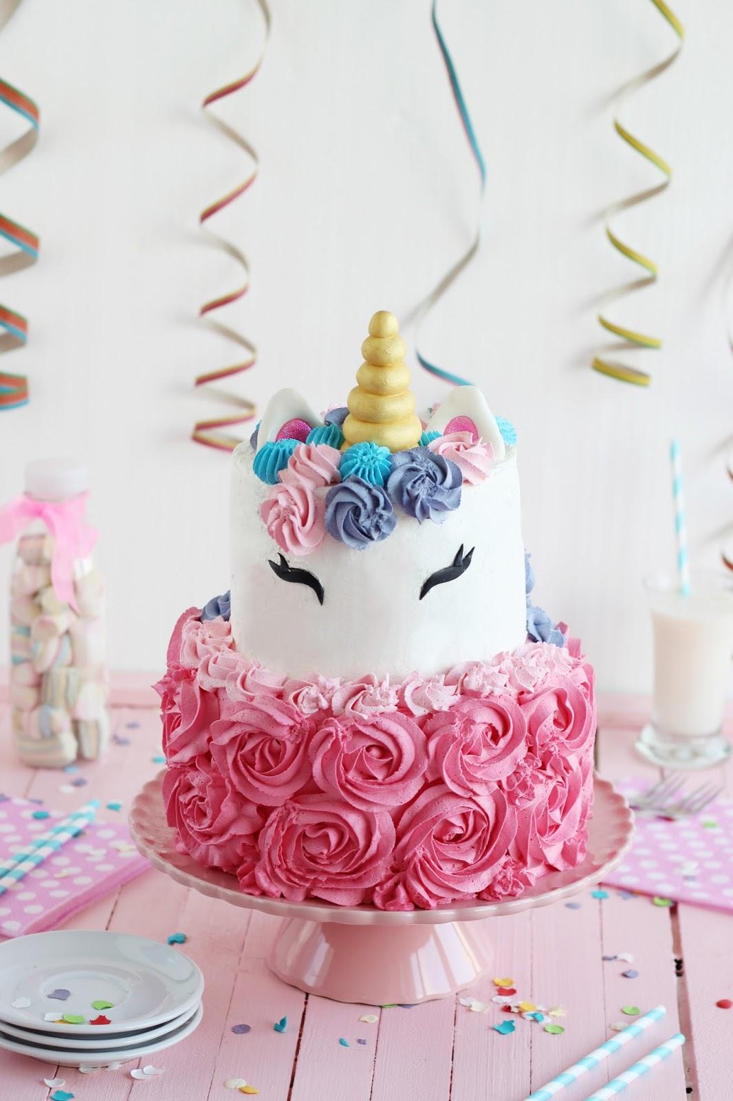 Como Hacer Una Tarta Unicornio Tartafantasia