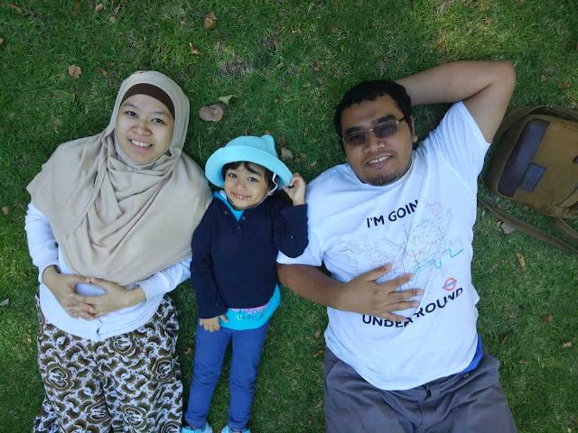 liburan musim panas di hyde park