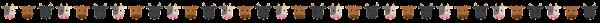 牛のライン素材