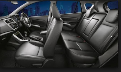interior suzuki sx4 s cross facelift terbaru