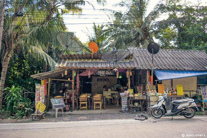 thailand restaurant ko kut Hütte