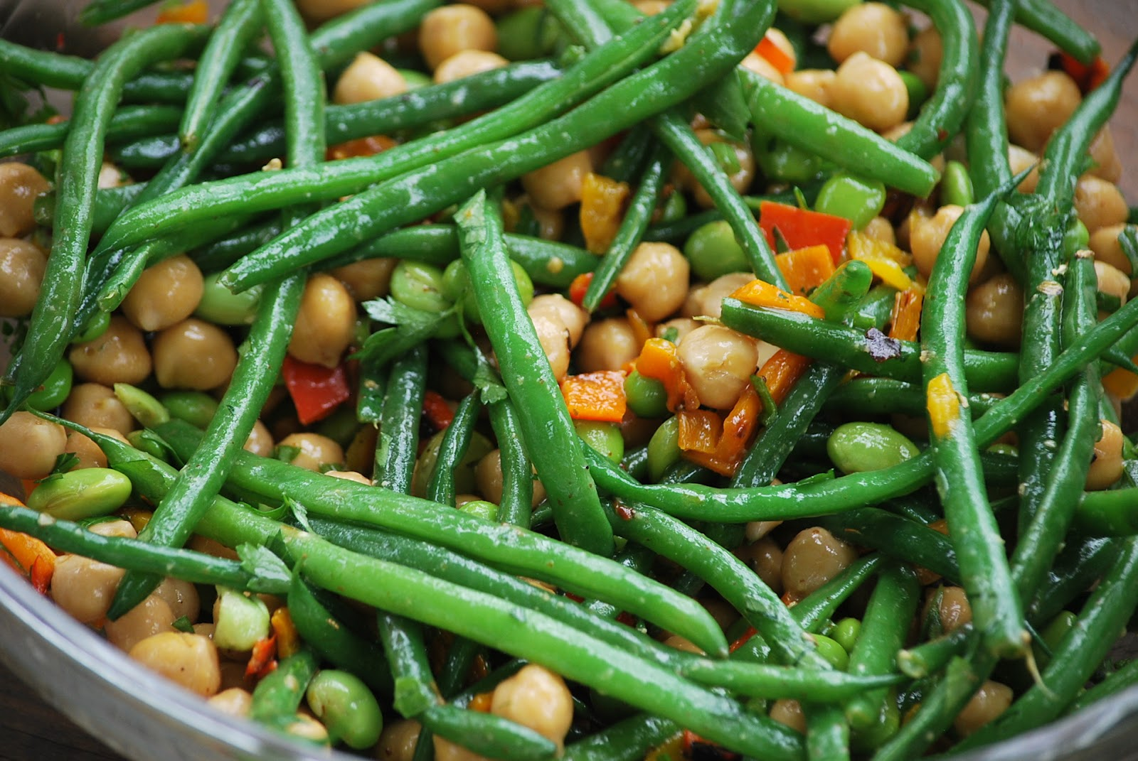 My Story In Recipes Three Bean Salad