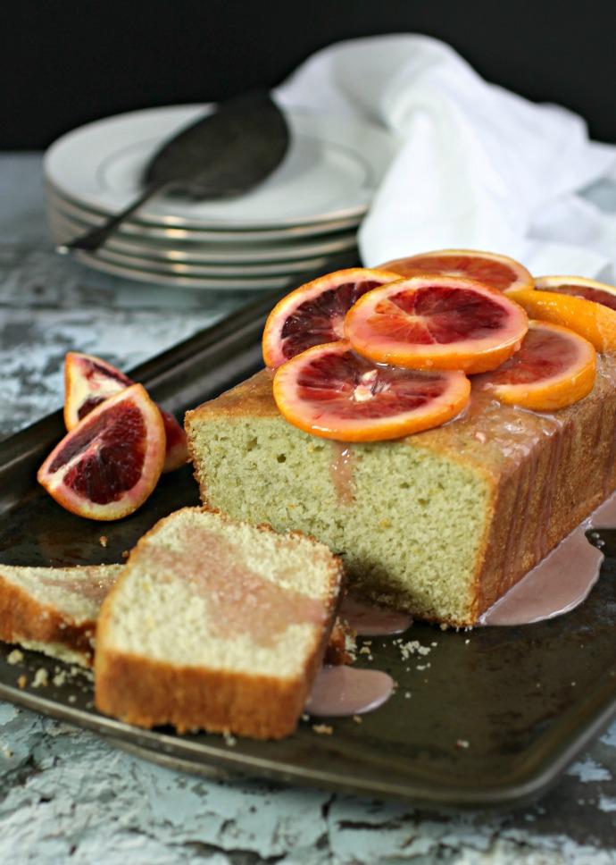 Blood Orange Cardamom Glaze with Honey Orange Glaze