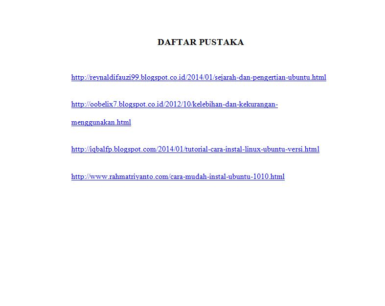 Contoh Daftar Pustaka Laporan Pkl Smk Forum Tkj Terupdate