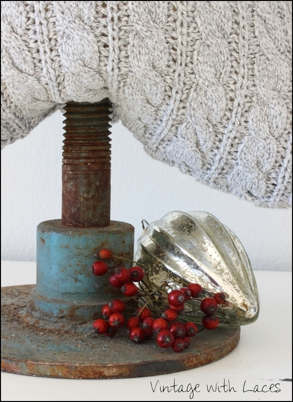 Upcycled Sweater Christmas Trees