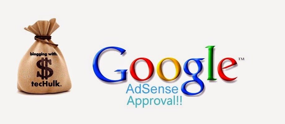 adsense approved how to place add